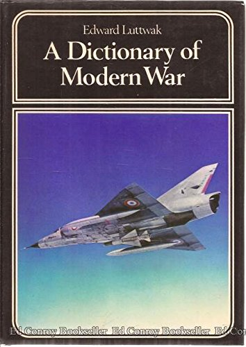 9780060127329: A dictionary of modern war