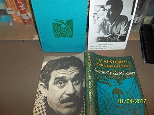 Leaf Storm and Other Stories.: GARCIA MARQUEZ, Gabriel.