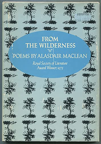 9780060128043: From the wilderness : poems