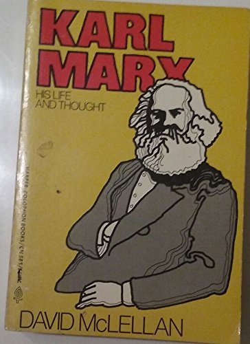 9780060128296: Karl Marx: his life and thought
