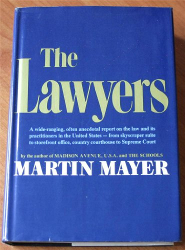 9780060128760: The Lawyers