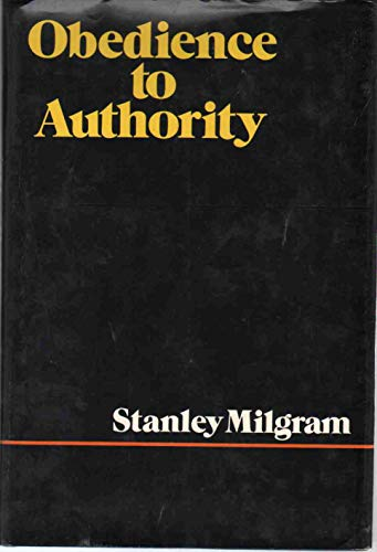 9780060129385: Obedience to Authority: An Experimental View