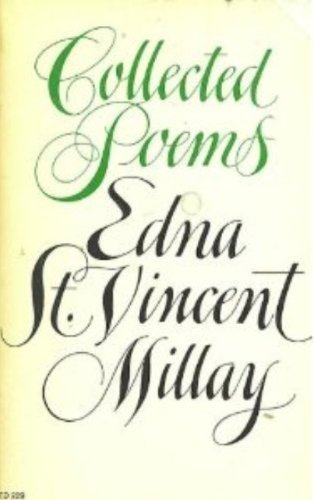 9780060129484: Collected Poems: Edna St. Vincent Millay