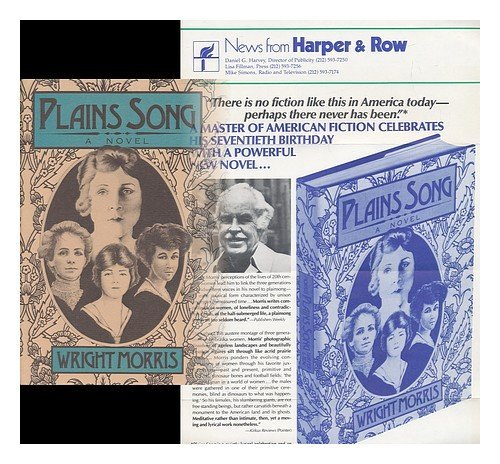 Plains Song: For Female Voices: Morris, Wright