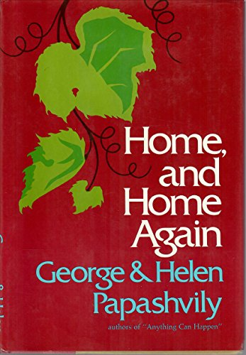 9780060132620: Home, and Home Again