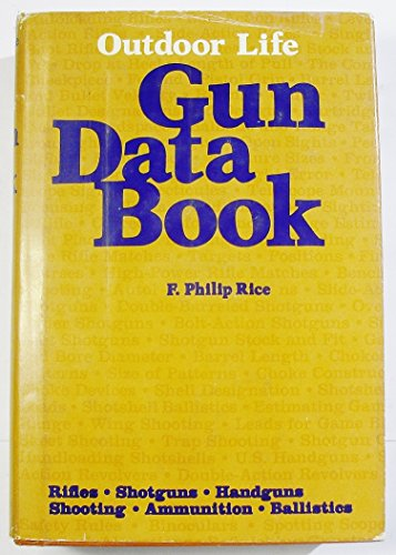 9780060135294: Outdoor Life: Gun Data Book