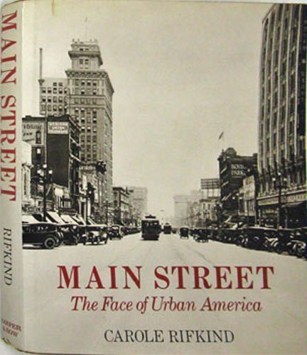 9780060135737: Main Street (The Face Of Urban America)