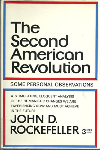 9780060135874: The Second American Revolution: Some Personal Observations (A Cass Canfield Book)