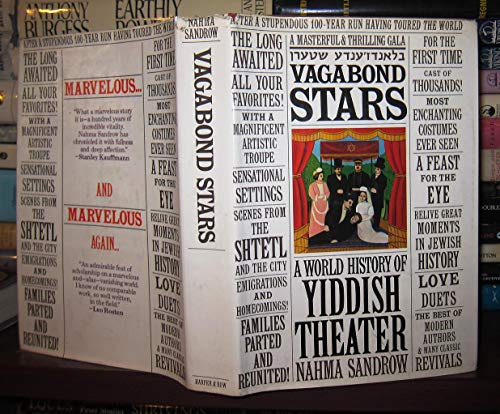 9780060137564: Vagabond Stars: A World History of Yiddish Theater