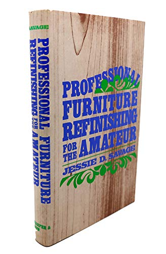 9780060137748: Professional Furniture Refinishing for the Amateur
