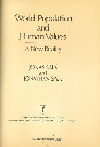 9780060137786: World Population and Human Values: A New Reality