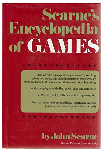 9780060138134: Scarne's Encyclopedia of Games