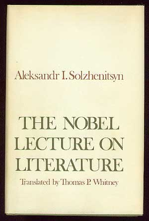 The Nobel Lecture on Literature.