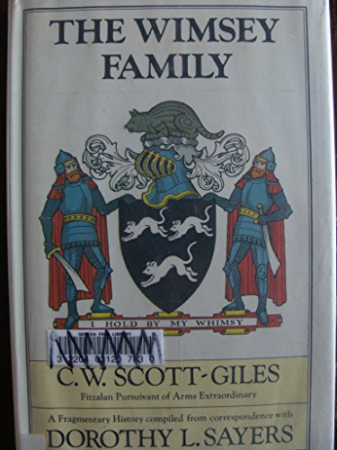 9780060139988: The Wimsey Family: A Fragmentary History Compiled from Correspondence with Dorothy L. Sayers