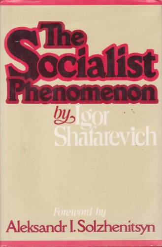 9780060140175: The socialist phenomenon