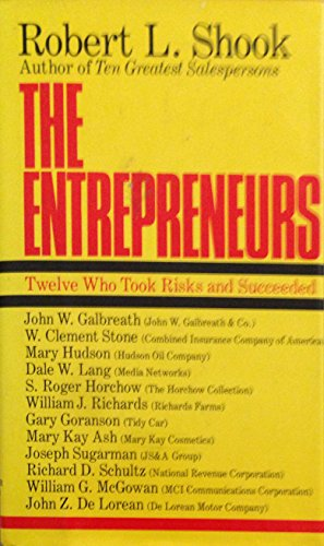 9780060140250: The Entrepreneurs: Twelve Who Took Risks and Succeeded