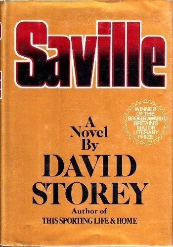 9780060141264: Saville: A Novel