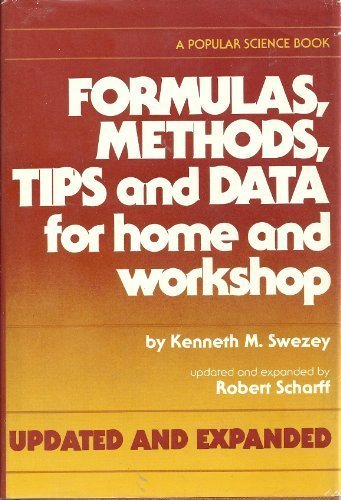 Formulas, Methods, Tips, and Data for Home: Kenneth M. Swezey