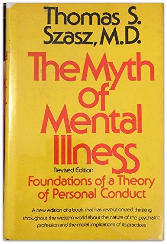 9780060141967: The Myth of Mental Illness