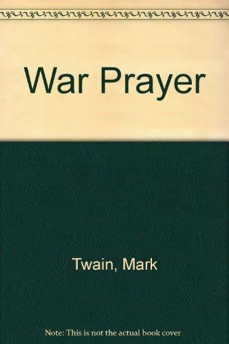 9780060144210: War Prayer