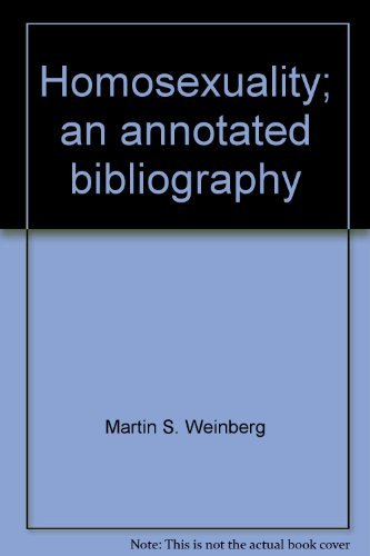 9780060145415: Homosexuality; an annotated bibliography