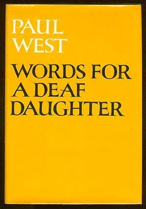 9780060145545: Words for a Deaf Daughter.