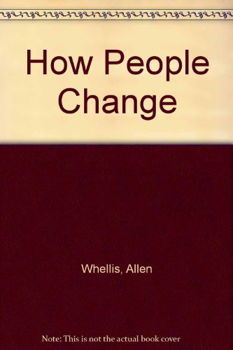 9780060145583: How people change