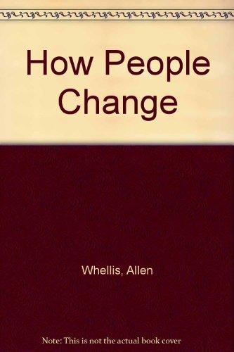 9780060145583: How people change