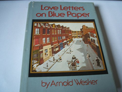 9780060145613: Love letters on blue paper