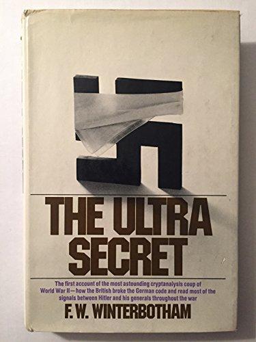 9780060146788: The Ultra Secret