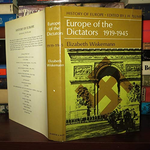 9780060146924: Europe of the Dictators, 1919-1945