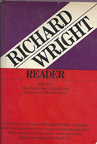 Richard Wright Reader (9780060147372) by Richard Wright