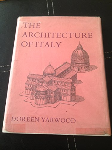 9780060147693: The architecture of Italy