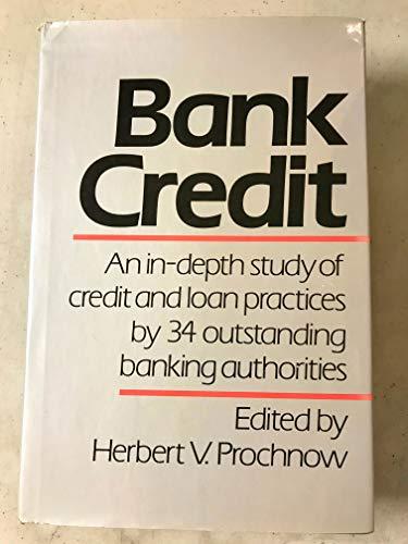 9780060148577: Bank Credit