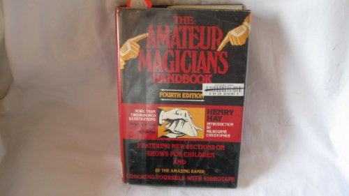 9780060148652: The amateur magician's handbook