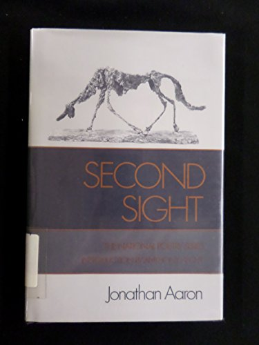Second Sight (National Poetry Series): Jonathan Aaron, Anthony