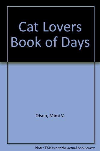 9780060150402: Cat Lovers Book of Days