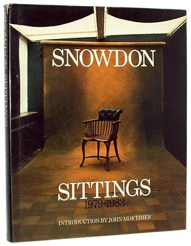 9780060152185: Snowdon Sittings, 1979-1983