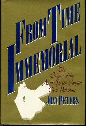 joan peters from time immemorial