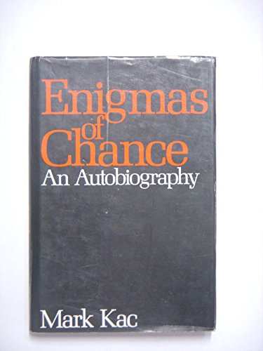 9780060154332: Enigmas of Chance: An Autobiography