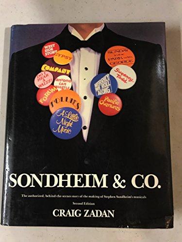 9780060156497: Sondheim & Co.