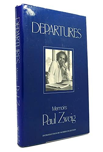 9780060156503: Departures: Memoirs