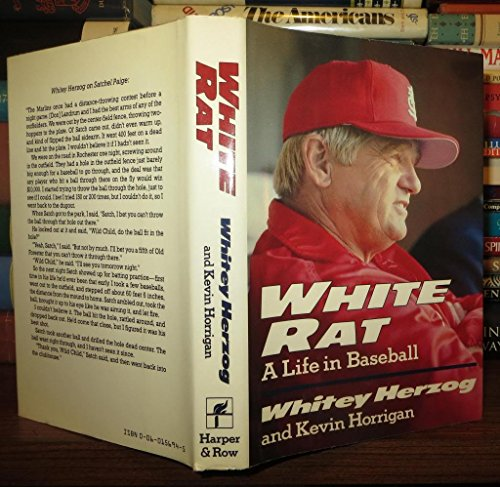 White Rat: A Life in Baseball: Herzog, Whitey; Horrigan, Kevin