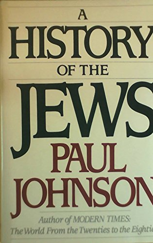 9780060156985: A History of the Jews
