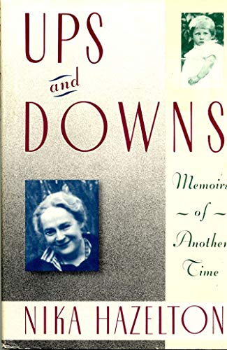9780060157425: Ups and Downs : Memoirs of Another Time