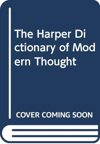 9780060158699: The Harper Dictionary of Modern Thought