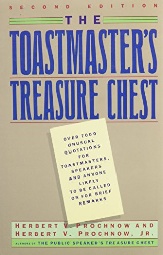 9780060159061: The Toastmaster's Treasure Chest
