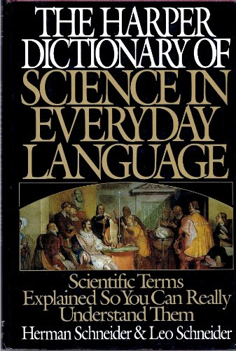 9780060159504: The Harper Dictionary of Science in Everyday Language