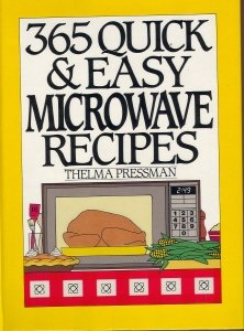 9780060160265: 365 Quick & Easy Microwave Recipes