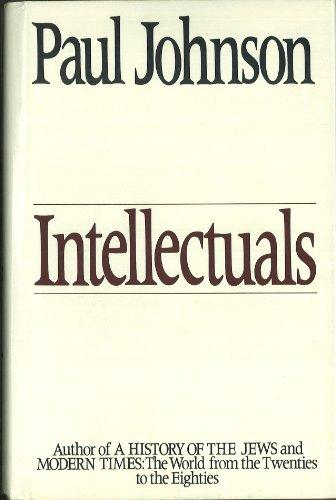 9780060160500: Intellectuals